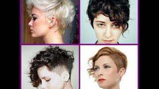 Short Curly Pixie Hairstyles  - 20 Short Trendy Hairstyles 2016