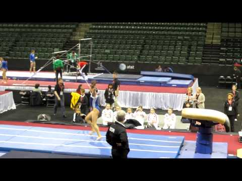 Lexie Priessman - Pac Rims Podium Training - Vault