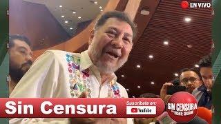 EN VIVO #Noroña se lanza contra #FelipeCalderón y #VicenteFox. AMLO anuncia refinería. 5/9/2019