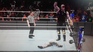 Stan Lee vs Thanos Extreme Rules Match ( RIP Stan Lee )