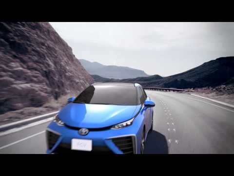 Toyota Hydrogen Car 2015