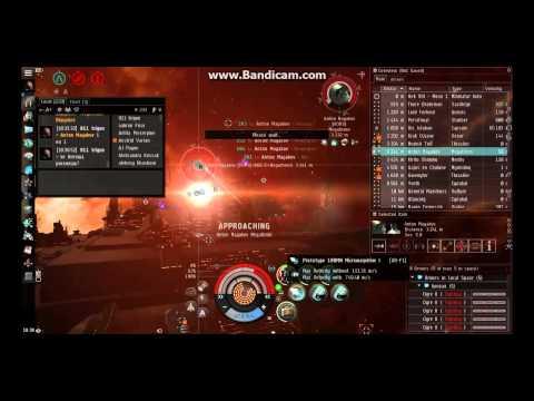 EVE online pvp - HEAVY ARMOR TANK