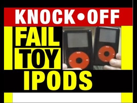 Fake Apple iPods Flooding USA Funny Video Product Review by Mike Mozart @JeepersMedia on You Tube