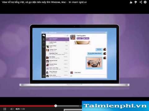 Download Viber mới nhất - Gọi điện nhắn tin từ máy tính laptop miễn phí bằng Viber