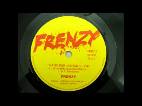 Frenzy - Thanx for Nothing (1982 - NWOBHM)