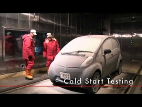 Mitsubishi i-MiEV Driving Performance,