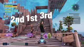 Insane hoverboard race track with Friends!!! Fortnite Pve