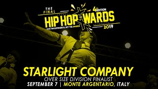 STARLIGHT COMPANY (ITA) - Over Size Division | Hip Hop Awards 2019 The Final