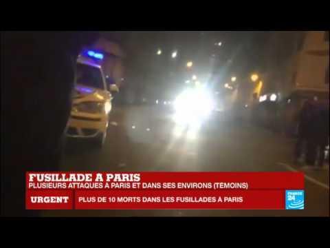 """Attentats terroristes à #Paris : J'ai 6 victimes sous les yeux"""""""
