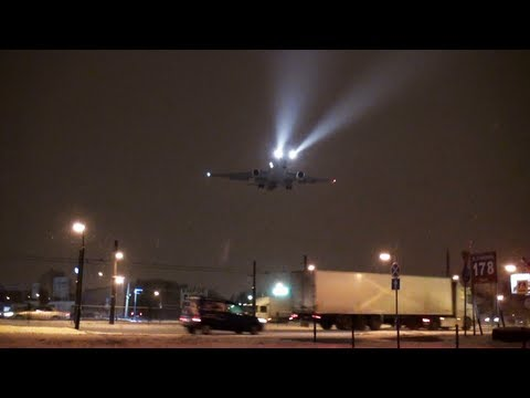 Going around & landing UPS MD-11 N285UP. (Read description) The progress and circumstances of the incident: During the MD 11 landing the crew gets the order to go around because of the braking-ra...