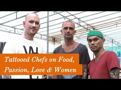 Interview with Tattoed Chefs on Food, Passion, Love & Women