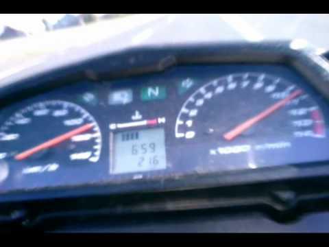 Honda Cbr 125 >> Honda varadero acceleration and top speed - YouTube