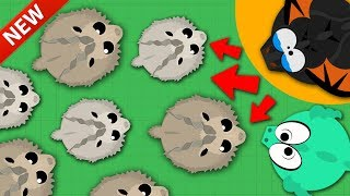 MOPE.IO / NEW RARE MARKHOR & BIG GOAT UPDATE ADDED! / NEW MOPE ANIMAL UPDATE GAMEPLAY & TROLLING!