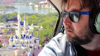 Flying Over Walt Disney World in A Small Plane