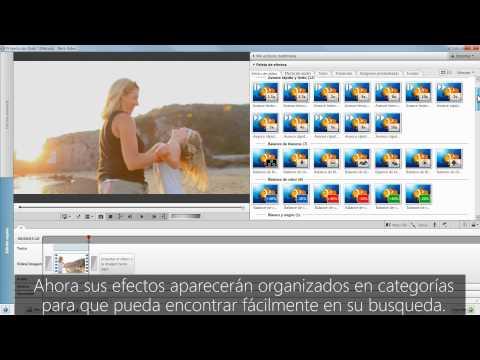 Efectos de cámara lenta y rápida de Nero Video