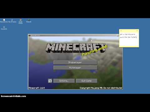 How to stop Minecraft 1.6.4 lag.