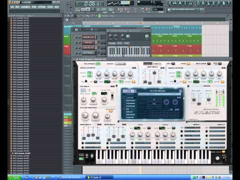 fl studio trance bassline & melody by SoundGate