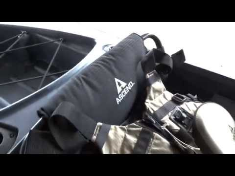Ascend FS10 Angler Kayak 2015 Edition
