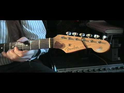 Danny Kirwan -Fleetwood Mac - like it this way-Danny's technique 1