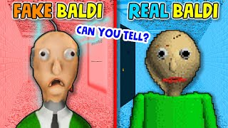 CRAZIEST BALDI RIPOFF EVER….(Can You Tell The Difference?) | Baldi's Basics Knock Offs/Rip Offs