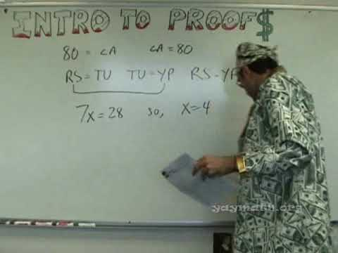 Geometry - Introduction to Proofs