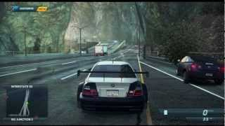 Need For Speed Most Wanted (2012) [Xbox 360]: BMW M3 GTR Gameplay