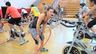 Best FULL hour FREE On-line Spin Class / Cycling Video w ...