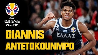 Giannis Antetokounmpo | FULL HIGHLIGHTS - 1st & 2nd Round | FIBA Basketball World Cup 2019