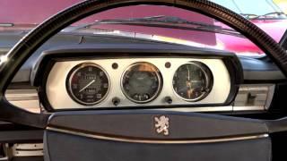 Peugeot 504 GL - walk around and start up
