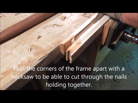 Replacing the glass in an Anderson A1 type window - by Old Sneelock's Workshop
