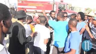 VIDEO: Haiti - Arnel Belizaire Rale Zam sou Manifestan yo - 11 Janvier 2014