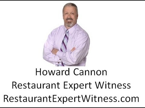 Food Liabilty in Restaurants-Howard Cannon