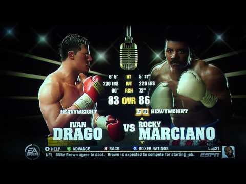 Fight Night Round 4 Rocky Balboa vs Ivan Drago pt.1