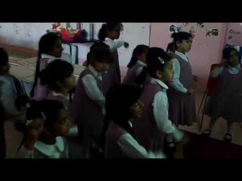 Arabic Girls Kung Fu Fighting video