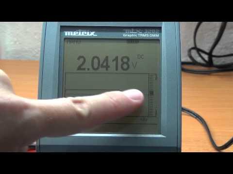 Multimeter review / buyers guide: Metrix MTX3282 Graphical Digital Data Logging Multimeter