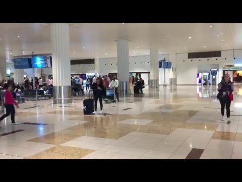 Activating Emirates skywards card E gate at Dubai airport