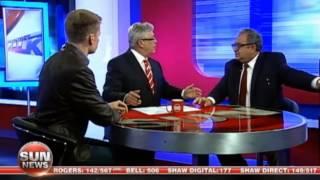 Four white Sun TV panelists explain white privilege to guy who isn't white