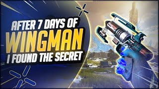 I Used Only Wingman For 7 Days, And Found The Secret To Insane Aim (Apex Legends)