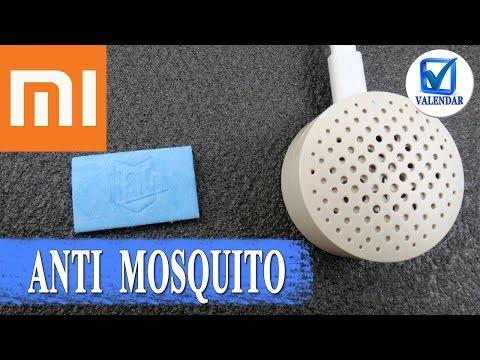 Фумигатор от Xiaomi - карманный отпугиватель комаров  который работает от повербанка