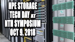 HPE Storage Tech Day at Nth Symposium