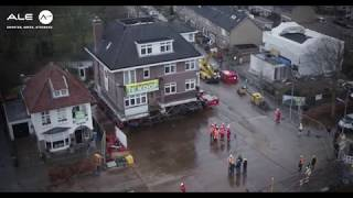 How to transport an entire house, Netherlands