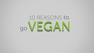 10 Reasons To Go Vegan
