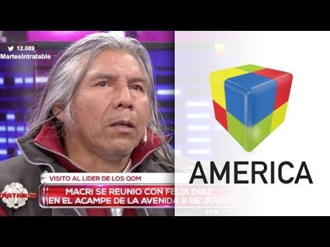Tras el encuentro con Macri, Félix Díaz pidió no ser una propaganda política