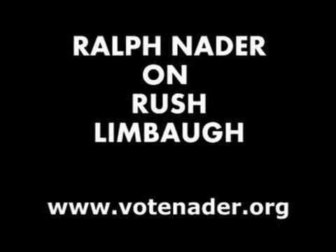 Nader on Rush Limbaugh