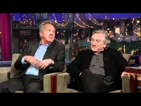 David Letterman -_- Robert Deniro & Dustin Hoffman - Part 1 - 2010.12.17
