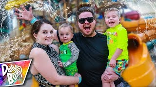 Family Trapped in Indoor Waterpark!