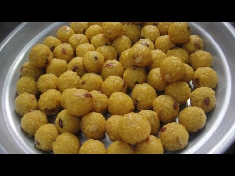 சிறந்த லட்டு | Salem Special | The Best Laddu Making Methods | Gowri Samayalarai