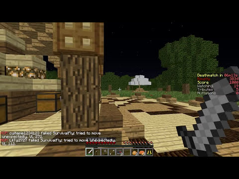 TEENAGE MUTANT NINJA TURTLES Minecraft Hunger Games w/ xRPMx13 #63