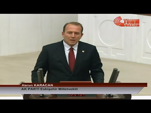 AK Parti Eskişehir Milletvekili Harun Karacan TBMM'de And İçme