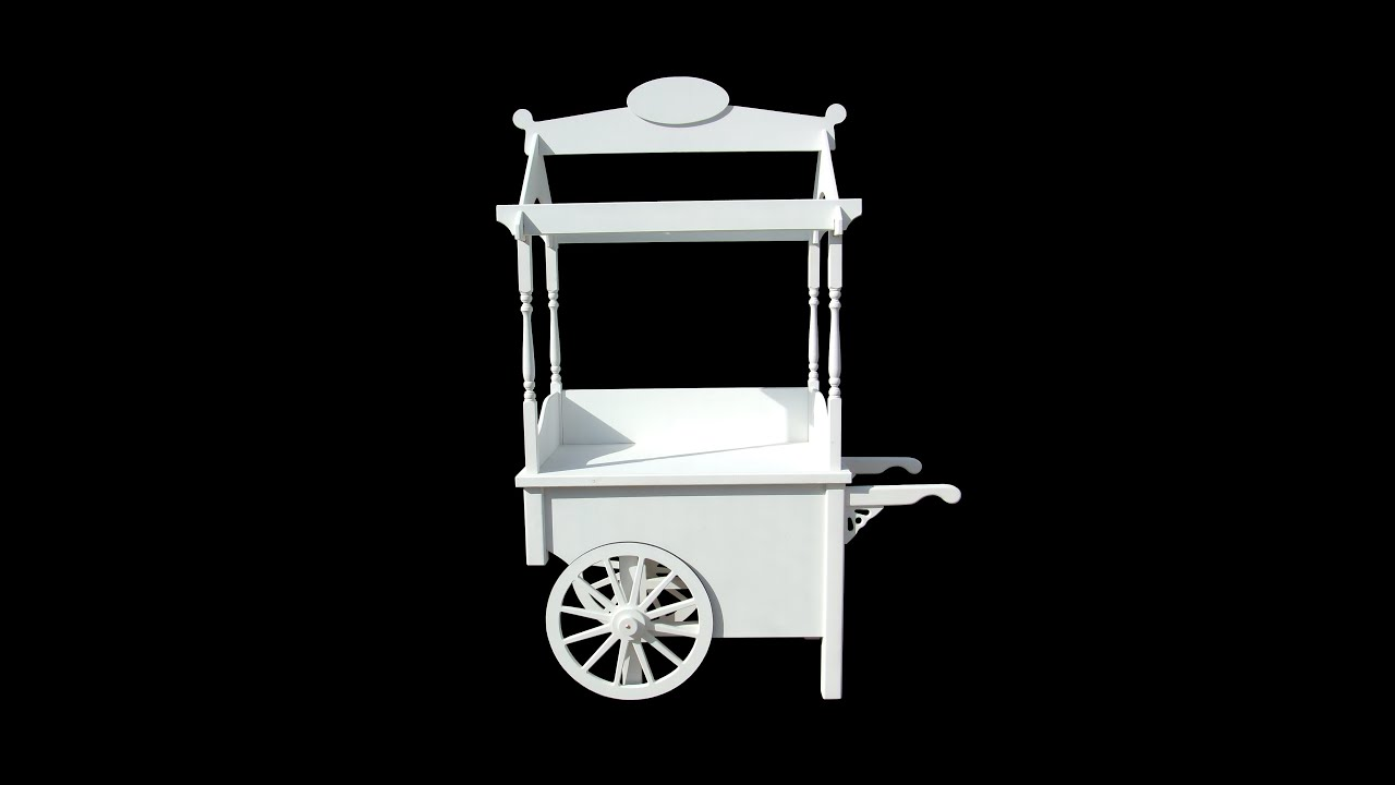 BUFFET CANDY CART IDEAL FOR WEDDINGS OR ANY OCCASSION